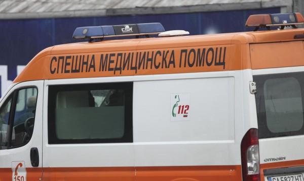 Жена е с опасност за живота след катастрофа в Бургас
