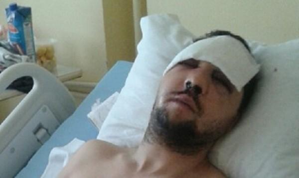 Пребитият журналист: Видях единия от нападателите!