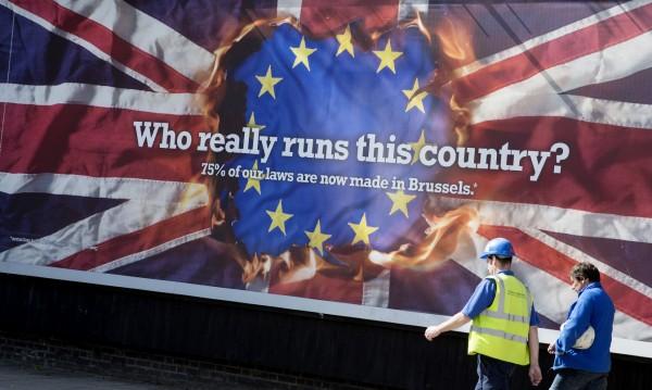 """Все повече са британците, които казват """"Не"""" на ЕС"""