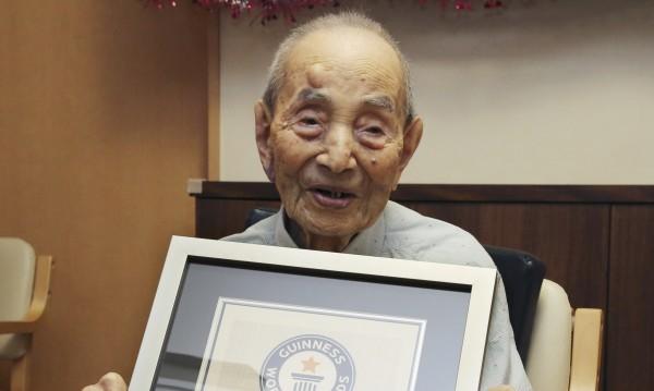На 112 години си отиде най-възрастният мъж
