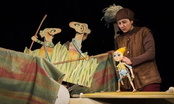 """""""Момче и вятър"""" в Столичен куклен театър"""