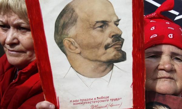 Ленин все още има значително присъствие в Русия