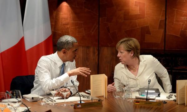 Обама обеща на Меркел подкрепа за бежанците