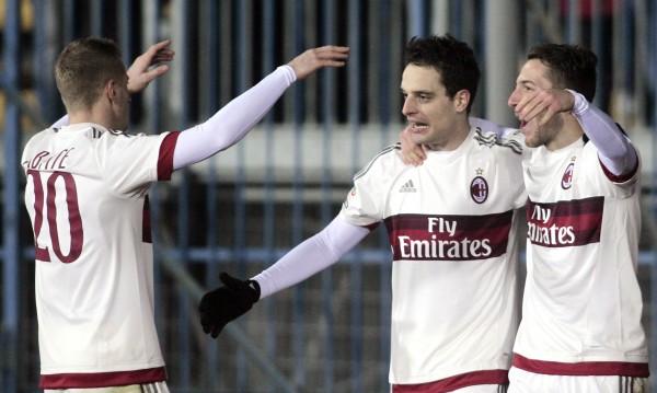 Милан изпусна победата в Тоскана