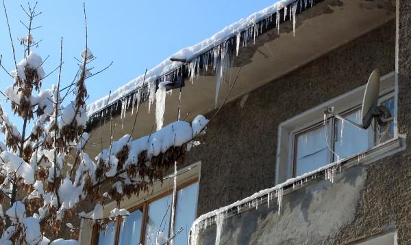 Севлиево замръзна! Градусите паднаха до минус 28