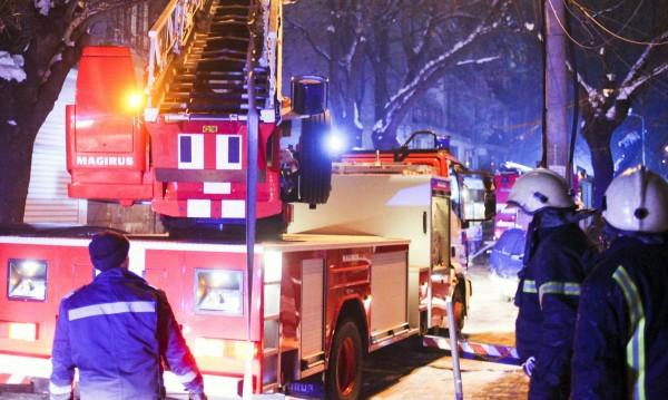 Пожар горя в училище в монтанско село