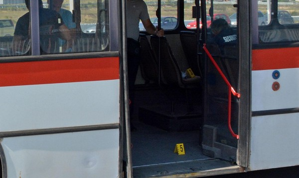Нападнаха с бокс шофьор на автобус в София