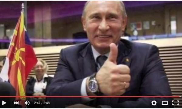 Песен за Путин набира популярност в Македония