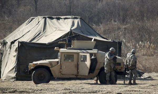 Американски инструктори обучават африкански военни