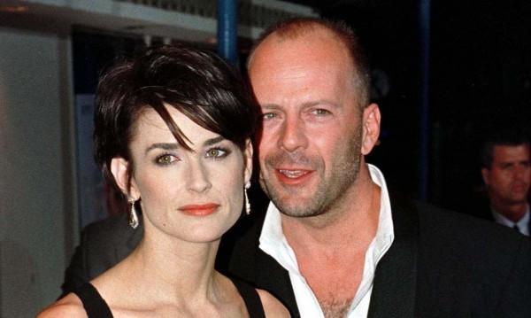Брус Уилис и Деми Мур - влюбени, но на екрана