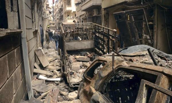 Москва: САЩ бомбардират Алепо!