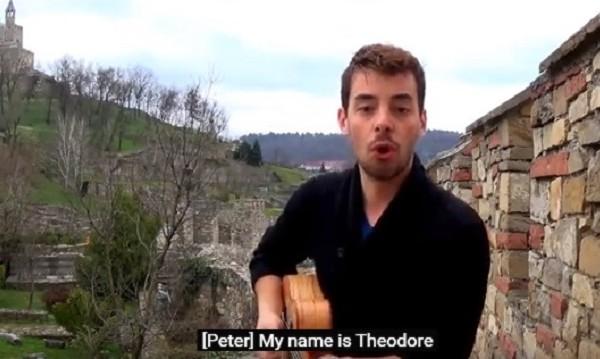 Това е реклама: Щур французин възпя царете Асен и Петър