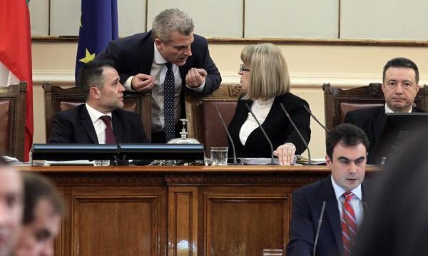 Парламентарни емоции – скандал на дебатите по вота