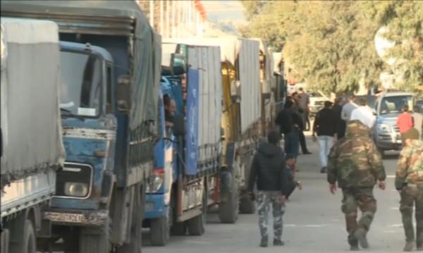Хуманитарна помощ стигна до 5 района в Сирия