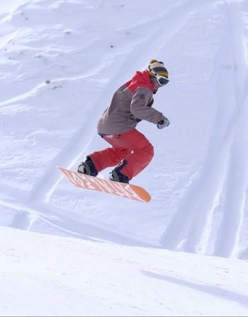 Сноуборд - кои мускули тонизира?