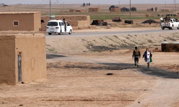 ИД отряза маршрута за снабдяване на сирийската армия