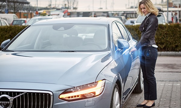Volvo слага край на автомобилните ключове