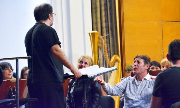 """Репетициите на звездите в """"Турандот"""" в разгара си"""