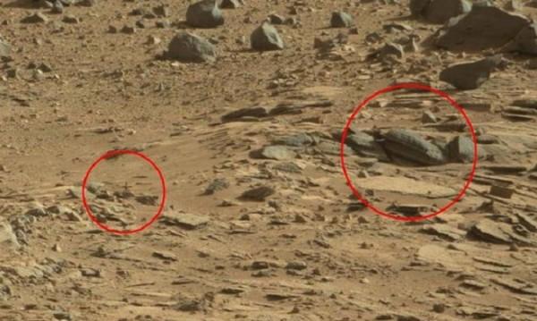 Истината е някъде там... кръст и храм на Марс