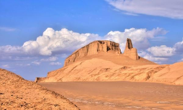 Знаете ли, че... пустинята Деще Лут е най-горещото място?
