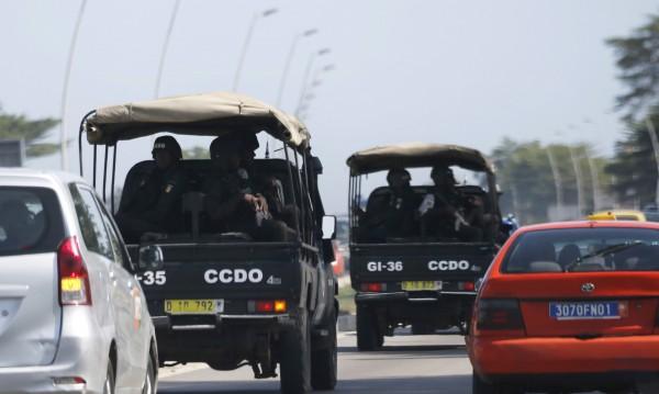 12 души са убити при стрелба край хотел в Кот Д'Ивоар*