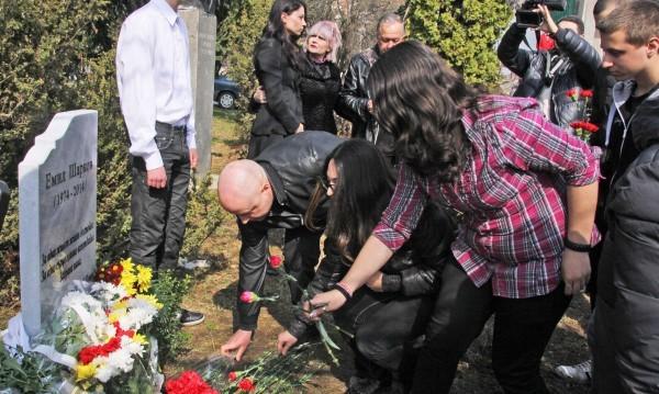 Почитат Емил Шарков в Лясковец и Търново