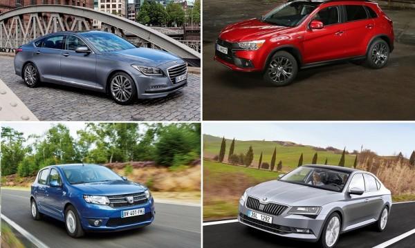 Това са най-евтините автомобили в Европа