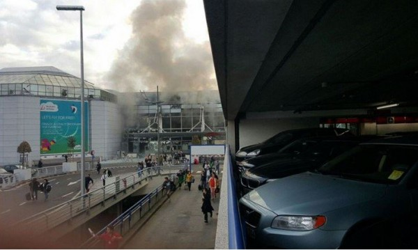 Три колана с взривове са открити на летището в Брюксел