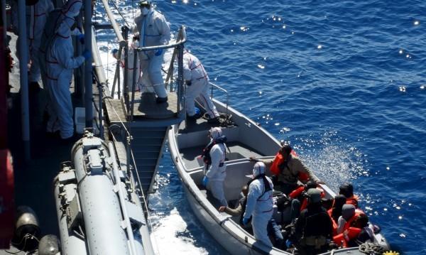 Близо 1500 души бяха спасени в Средиземно море