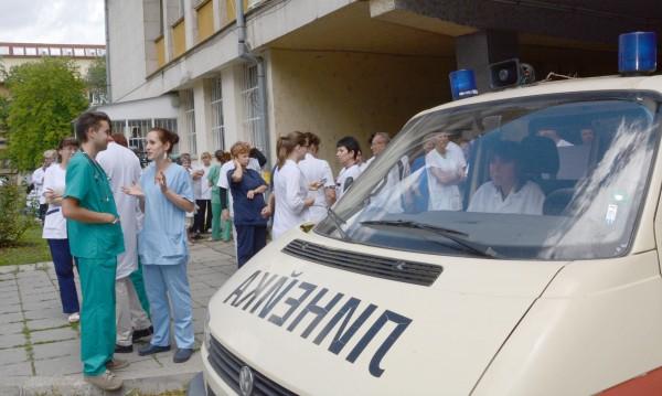 1,2 млн. души без доктор по време на протестите