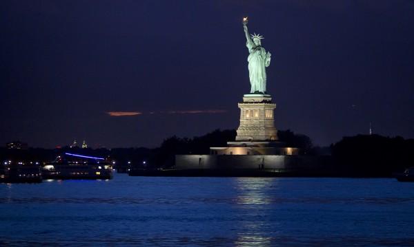 Знаете ли, че... Статуята на свободата е подарък от Франция?