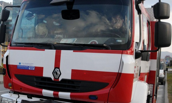 Румънски ТИР се самозапали в село Веселиново