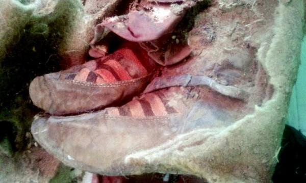 Намериха мумия на 1000 г., била с маратонки Adidas