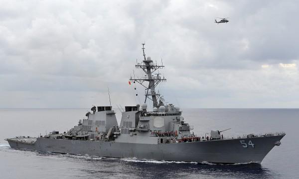 "Напрежение: ""Агресивни"" руски изтребители до US-боен кораб"