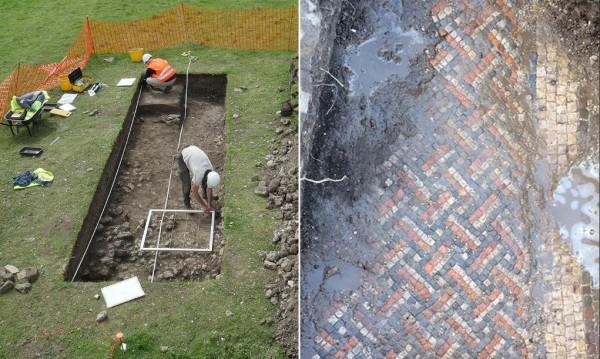 Разкопки в двора: Англичанин откри римски палат