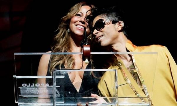 Марая Кери посвети песен на Принс по време на концерт