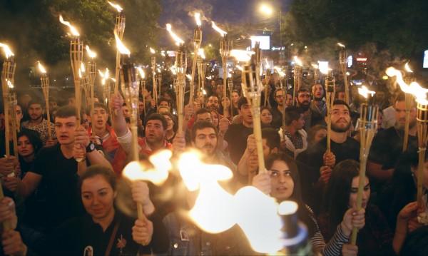 Армения отбелязва 101 години от арменския геноцид