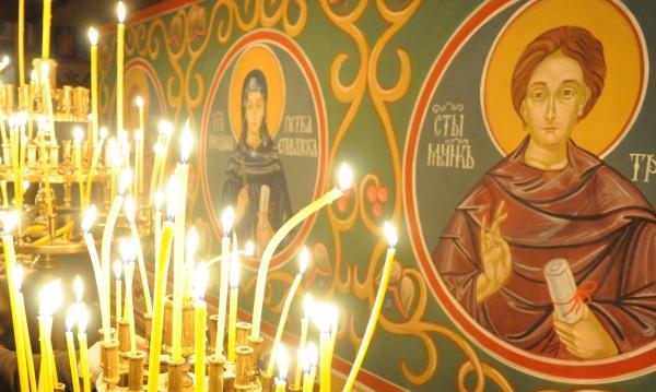 Обраха църква край Банско навръх Великден