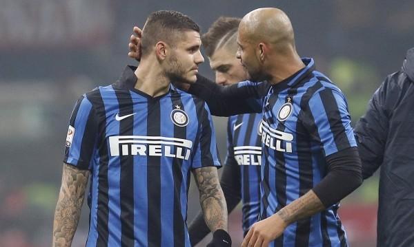 Лацио удари Интер в дербито на Италия