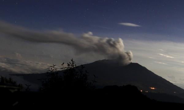 Вулкан в Коста Рика изригна