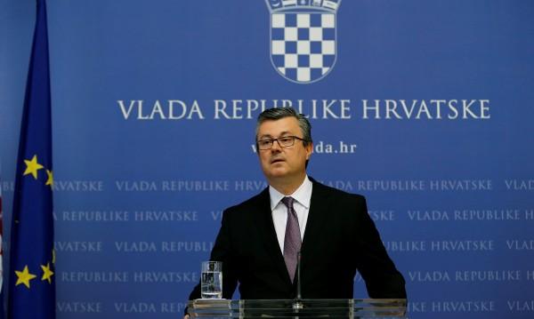 Хърватското правителство е пред разпад