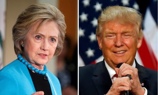 Клинтън и Тръмп поведоха война в Twitter