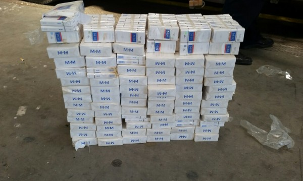 Митничари се натъкнаха на 16 200 нелегални цигари