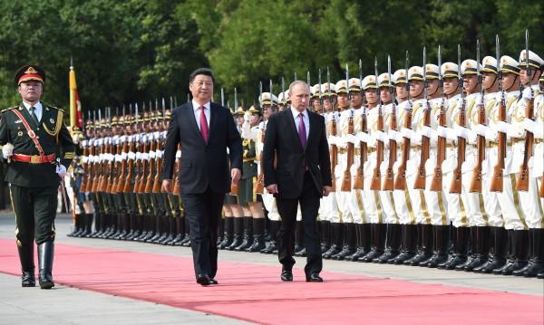 Путин: Русия и Китай - всичко върви добре между нас!