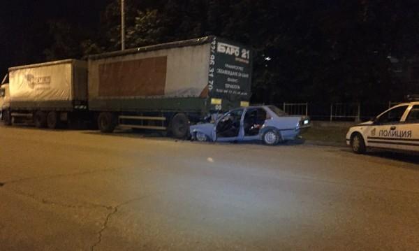 След гонка с катаджии – смърт на пътя в Пловдив