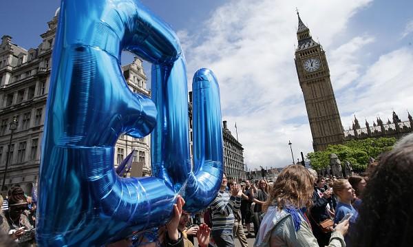 Лондончани на масов протест срещу Brexit-а