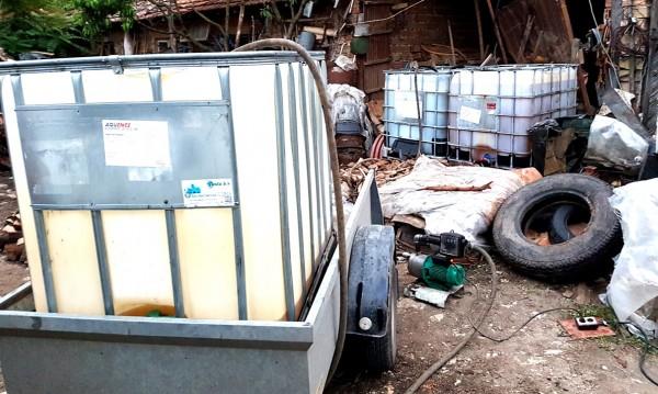 Митничари спипаха 3 тона дизел без документи