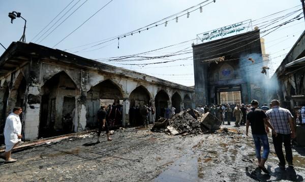 Нов взрив в Багдад, загинаха най-малко 9 души