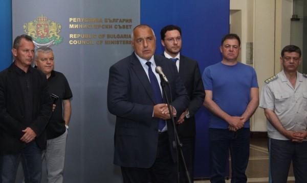 Борисов пак събра службите в МС*