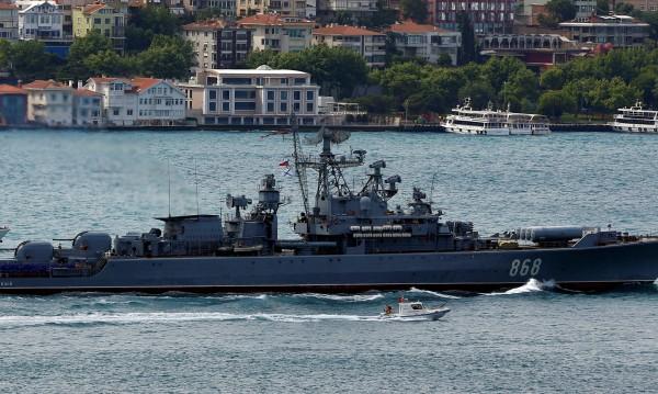 Корабоплаването в Черно море – временно ограничено